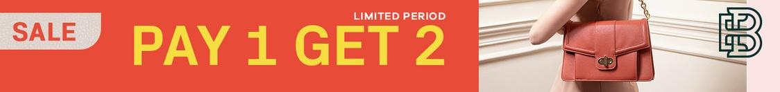 Pay 1 Get 2 Jan 2020